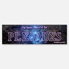 7 Sisters Of The Pleiades Bumper Bumper Bumper Sticker