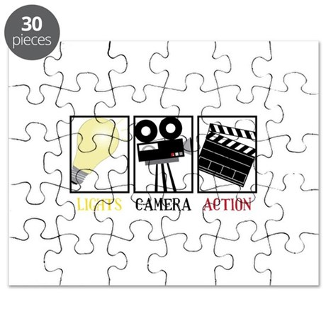 Lights Camera Action Puzzle