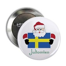"Jultomten 2.25"" Button"