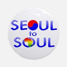 Seoul to Soul  Ornament (Round)