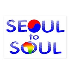 Seoul to Soul  Postcards (Package of 8)