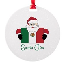 Santo Clos Ornament