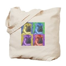 Gus the Shar Pei Tote Bag