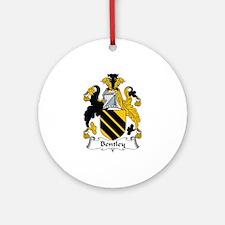 Bentley Ornament (Round)