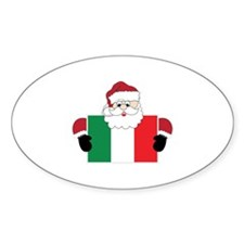 Santa In Italy Decal