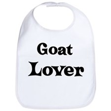 Goat lover Bib