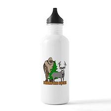 Finding big bucks Water Bottle