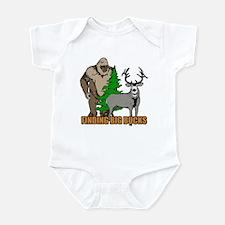 Finding big bucks Infant Bodysuit