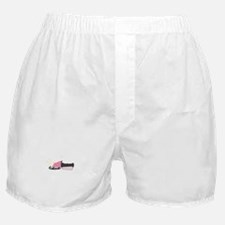 Girly Snowmobile Boxer Shorts