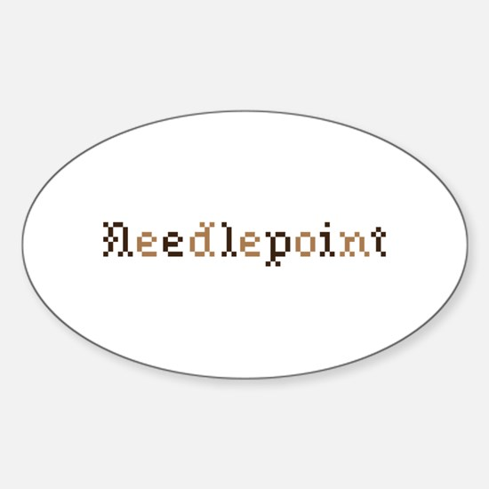 Needlepoint Decal