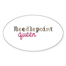 Needlepoint Queen Decal