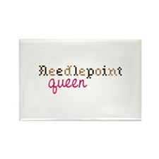 Needlepoint Queen Magnets