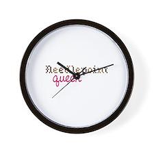 Needlepoint Queen Wall Clock