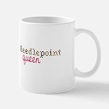 Needlepoint Queen Mugs
