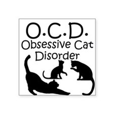 Obsessive Cat Disorder Sticker