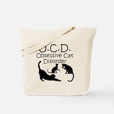 Obsessive Cat Disorder Tote Bag