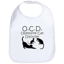 Obsessive Cat Disorder Bib