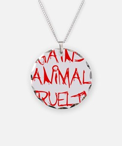 Against Animal Cruelty Necklace