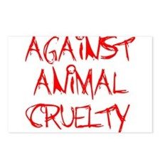 Against Animal Cruelty Postcards (Package of 8)