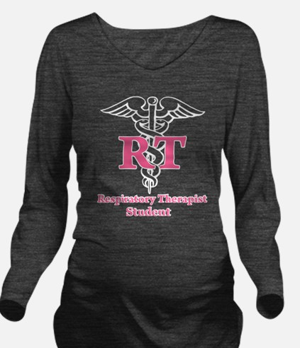Respiratory Therapist Long Sleeve Maternity T-Shir