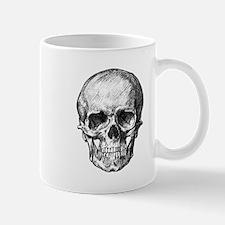 HUMAN SKULL ANATOMY Small Small Mug