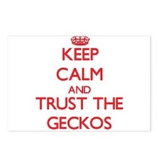 Keep calm and Trust the Geckos Postcards (Package