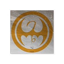 "Marvel Ironfist Logo Square Sticker 3"" x 3"""