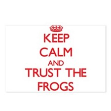 Keep calm and Trust the Frogs Postcards (Package o