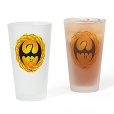 Marvel Iron Fist Logo Drinking Glass