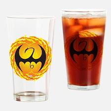 Marvel Iron Fist Logo Drinking Glass
