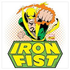 Iron Fist Wall Art Poster