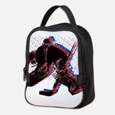 Hockey Goaler Neoprene Lunch Bag