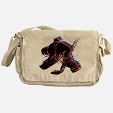 Hockey Goaler Messenger Bag