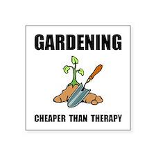 Gardening Therapy Sticker