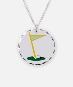 Golf Hole Necklace