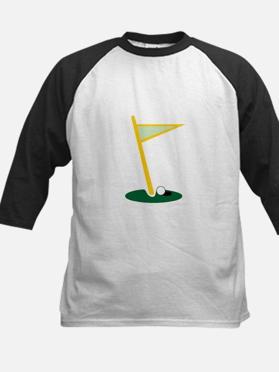 Golf Hole Baseball Jersey