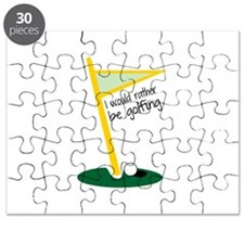 I Would Rather Be Golfing Puzzle