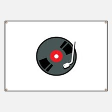 Record Player Banner