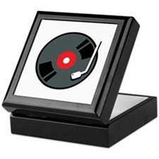 Record Player Keepsake Box