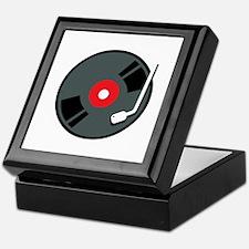 Record Player Keepsake Box