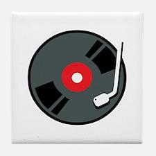 Record Player Tile Coaster