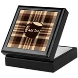 Plaid Square Keepsake Boxes