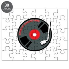 Spining My Favourite Tunes Puzzle