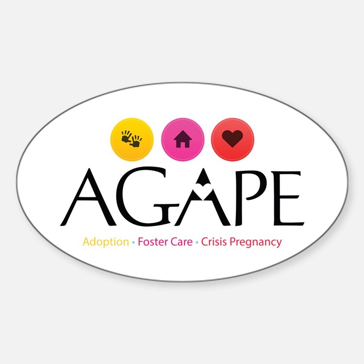 Agape - Connecting the Dots Decal