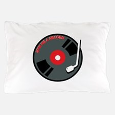 Spin Me A Record Pillow Case