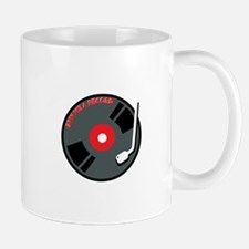 Spin Me A Record Mugs