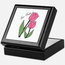 Two Tulips Keepsake Box