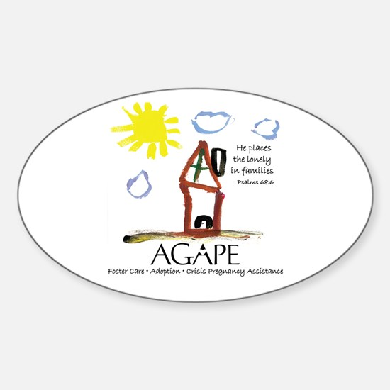 Agape For Families Collection Decal