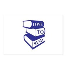Love To Read Postcards (Package of 8)