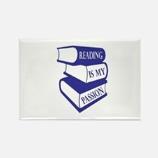 Reading Is My Passion Magnets